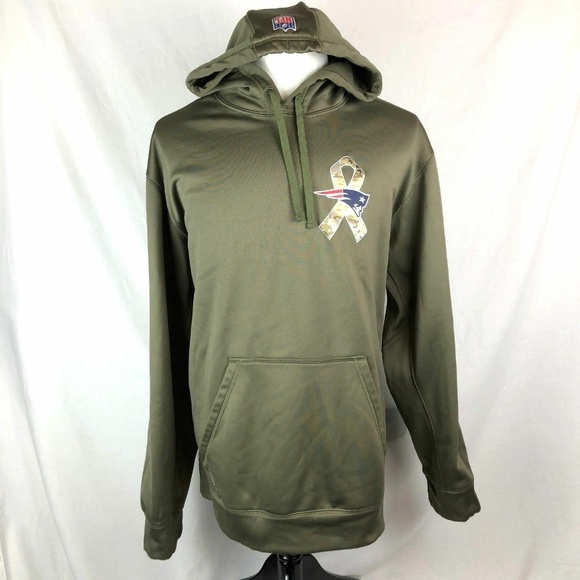 finest selection 10518 1584b Nike New england patriots salute to service hoodie